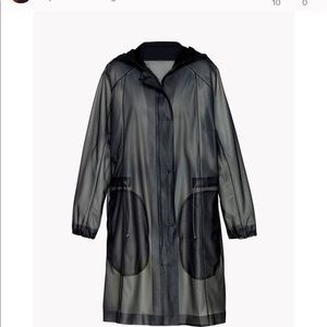 Theory water trench coat
